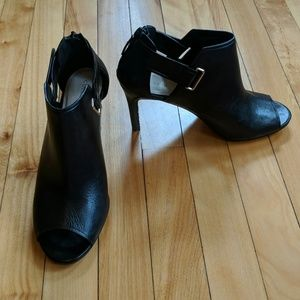 Cole Haan Peep Toe Booties